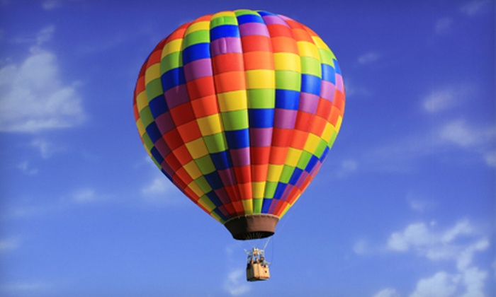 Go Hot Air Ballooning - Tulsa: Private Hot Air Balloon Ride for Two or Four with Champagne Toast and Fruit from Go Hot Air Ballooning (Up to 60% Off)