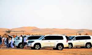 Off Road Adventure Tours: Half-Day Desert Safari with Dune Bashing, BB and Tanoura and Belly Dancing with Off Road Adventure Tours (Up to 51% off)