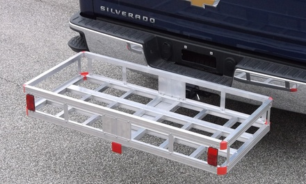 500lb. Aluminum Hitch Mount Cargo Carrier