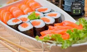 Bamboo Sushi House - Petrópolis: Almoço ou jantar com sequência livre à vontade para 1 ou 2 pessoas no Bamboo Sushi