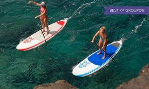 Fahrenheit Beachsports: Stand-Up Paddleboard Hire for One or Two, or Paddleboarding Lesson for Two at Fahrenheit Beachsports (Up to 49% Off)