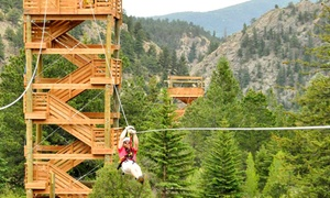Clear Creek Zip Line Special For One Two Or Four At Colorado Adventure Center Up To 41 Off