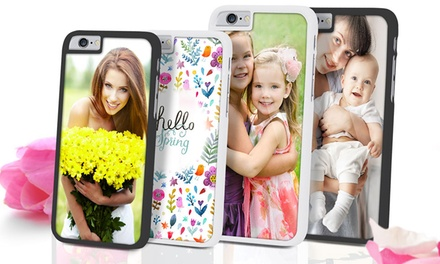 Custom Case for iPhone 55s, 6, or 6 Plus with Optional Tempered Glass Screen Protector from Printerpix