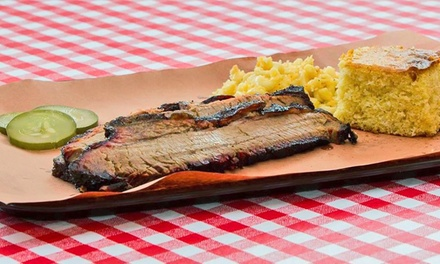 Barbecue at            The Prized Pig (Up to 45% Off). Three Options Available.
