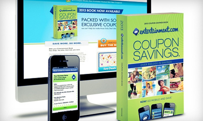 Entertainment Coupon Book: $15 for a 2013 Boston Entertainment Coupon Book (Up to $35 Value)
