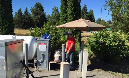image for $19 for Two Propane Tank Refills at Clearview True Value Hardware & Feed ($30 Value)