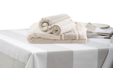 Set de mantelería y/o toallas