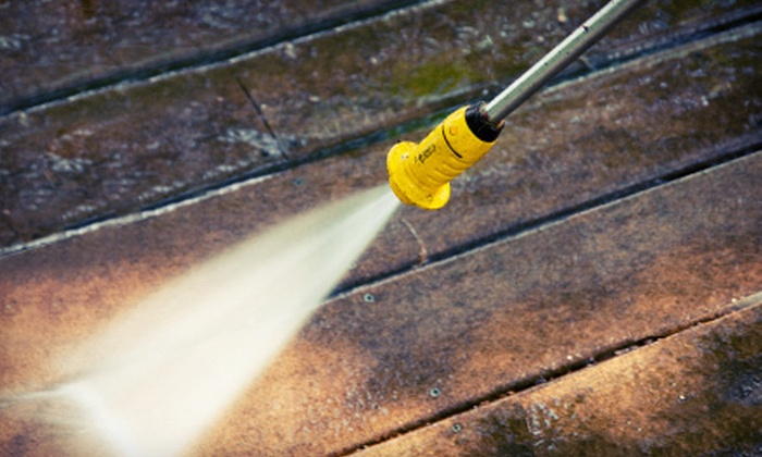 Cooke's Carpet Cleaning Service - Pensacola / Emerald Coast: $85 for Exterior Pressure Washing for a Single-Story Home from Cooke's Carpet Cleaning Service ($300 Value)