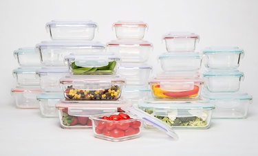 Wexley Food-Storage Glassware
