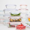 Wexley Glass Food-Storage Container Set (8-, 10-, 14-, or 20-Piece)