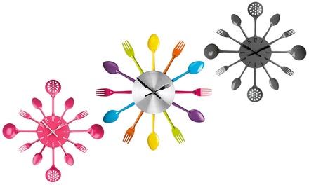 Cutlery Wall Clock