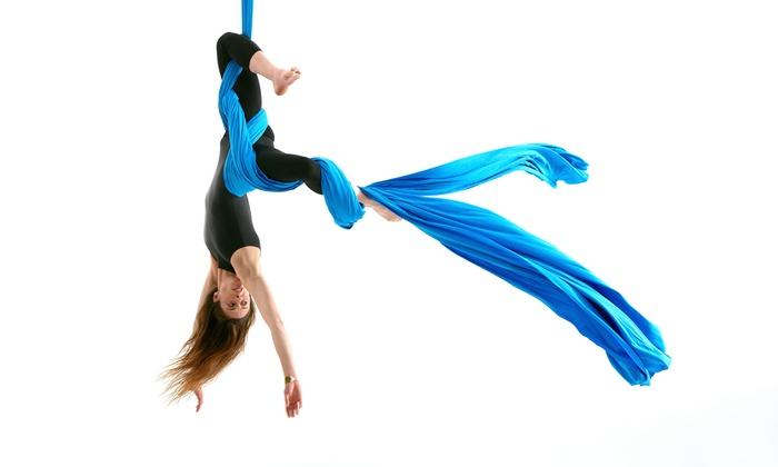 Golden Heart Performing Arts - Van Horn Industrial Area: Three Weeks of Aerial Fitness Classes at Golden Heart Performing Arts (30% Off)