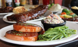 Old Texas Brewing Co.: Barbecue and Pub Food at Old Texas Brewing Co. (Up to 42% Off). Two Options Available.