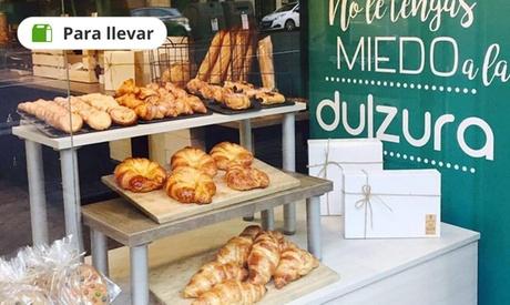 Surtido de 2 cajas con 15 piezas de mini bollería con opción a 8 cookies en Granola España (46% de descuento)