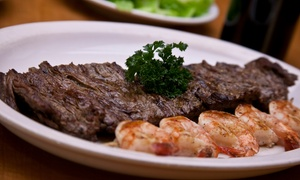 Charcoals Steak & Grill: $12 for $20 Worth of Steak-House Cuisine for Two or More at Charcoals Steak & Grill