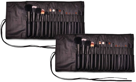 1 oder 2x 16-teiliges LaRoc Make-up-Pinsel-Set