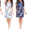 Women's T-Shirt Dress in Regular and Plus Sizes