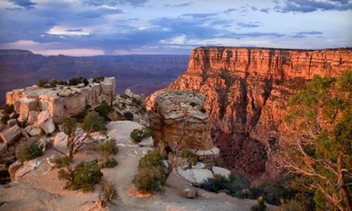 Grand Canyon Tour & Travel - The Strip: Full-Day Grand Canyon South-Rim Bus Tour for One or Four from Grand Canyon Tour & Travel in Las Vegas (Up to 52% Off)