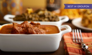 Up to 55% Off Indian Food at The Curry Club at The Curry Club, plus 6.0% Cash Back from Ebates.