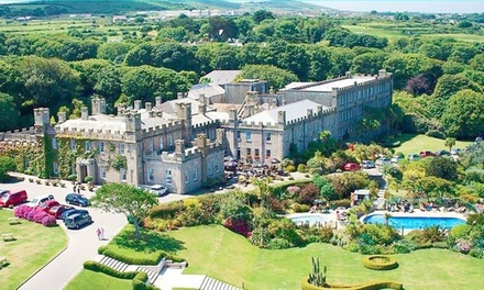 Cornwall: Double/Twin Room for Two with Breakfast, Round of Golf and Cream Tea at Tregenna Castle