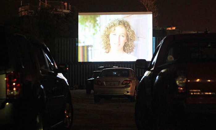 Misquamicut Beach - Westerly: Drive-In Movie with Soft Drinks and Popcorn for Two, Four, or Six at Misquamicut Beach (Up to 44% Off)