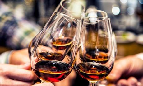 3,5 Std. Rum-Tasting mit 20 Sorten Rum für 1 oder 2 Personen mit Unique Berlin Events
