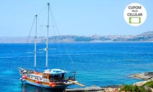 Elitur Turismo & Eventos: Passeio de escuna para Ilha dos Frades com bebida para 1 ou 2 pessoas