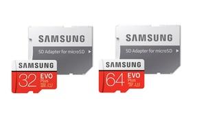 Cartes SD Samsung EVO+