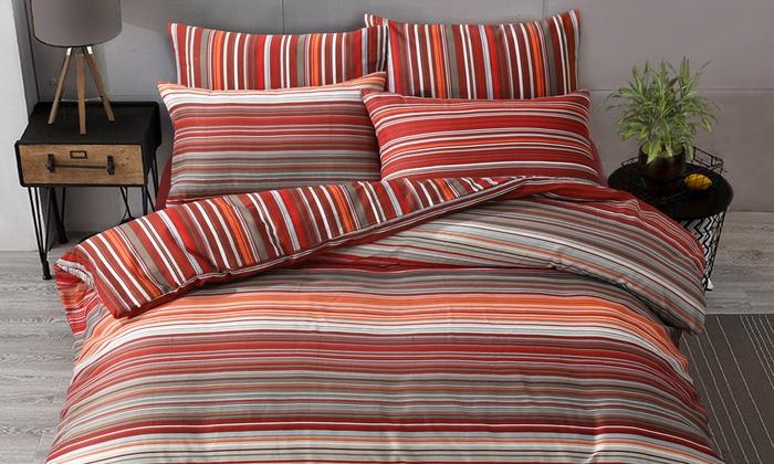 Pieridae Ombre Stripe Duvet Set from £8