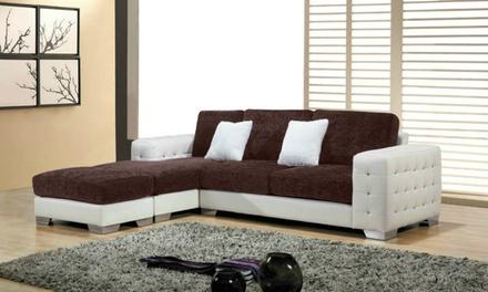 Ibiza L-Shaped Sofa and Chaise | Groupon