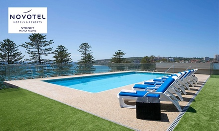 Sydney, Manly: 1 or 2Night Beach Escape for Two with Breakfast, Wine and Late CheckOut at Novotel Manly Pacific