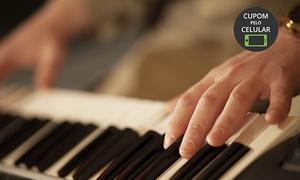 Music for Life - Escola de Música: Music for Life – Escola de Música – Petrópolis: 4, 8 ou 12 aulas de teclado