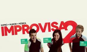 Improvisa2: $89 en vez de $180 por entrada para Improvisa2 en Centro de Arte Radio City + Roxy + Melany