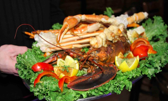 King Crab Tavern and Seafood Grill - DePaul: $20 for $40 Worth of Seafood and Drinks at King Crab Tavern and Seafood Grill