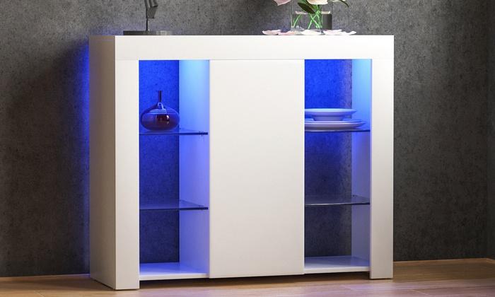 Vida Designs Azura LED Sideboards