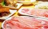 兵庫県/三宮≪天草豚の塩しゃぶしゃぶ鍋コース+飲み放題120分≫