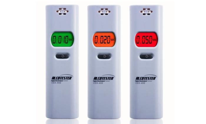Personal Digital Alcohol Tester Breathalyzer with LED Display: Personal Digital Alcohol Tester Breathalyzer with LED Display