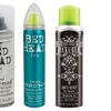 Bed Head Mini Dry Shampoo, Hard Head Hairspray, or Shine Hairspray