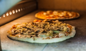 Pizzeria Omaggio: Pizzeria Food at Pizzeria Omaggio (Up to 40% Off). Two Options Available.