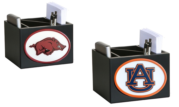 NCAA Desktop Organizer: NCAA Desktop Organizer. Multiple Designs Available. Free Shipping and Returns.