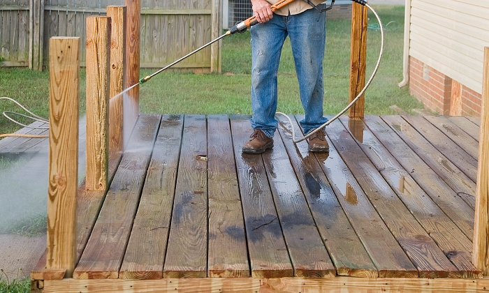 Bo' Knows Painting & Handyman - Charlotte: Home Pressure Washing from Bo' Knows Painting & Handyman (Up to 62% Off). Three Options Available.