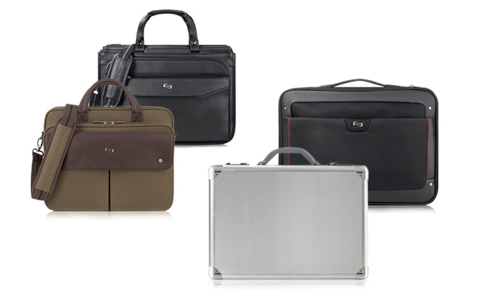 Solo Brief and Laptop Bags
