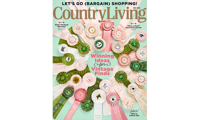 Up To 89 Off Country Living Magazine Subscriptions Groupon