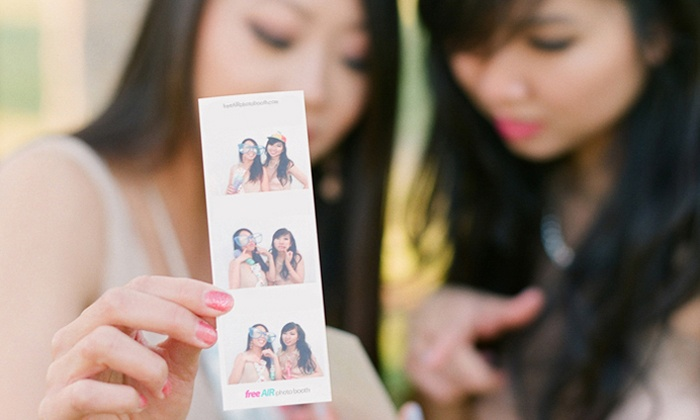freeAIR Photo Booth - Sacramento: $ 350 for a Three-Hour Open Photo-Booth Rental with Prints from FreeAir Photo Booth (Up to a $ 900 Value)