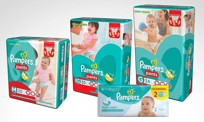 PANTS - Múltiples sucursales: Desde $162 en vez de $236 por 1 o 3 Pampers Pants con opción a Babywipes para retirar en sucursal