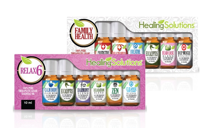 Therapeutic Essential Oils Set   Groupon Goods