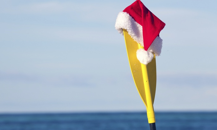 Whiskey Creek Hideout - Dania Beach: 45-Minute Christmas Kayak Tour for One, Two, or Four at Whiskey Creek Hideout (Up to 50% Off)
