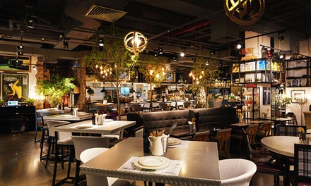 Up to AED 320 Towards Anything on the Menu at Melius Restaurant (Up to 45% Off)