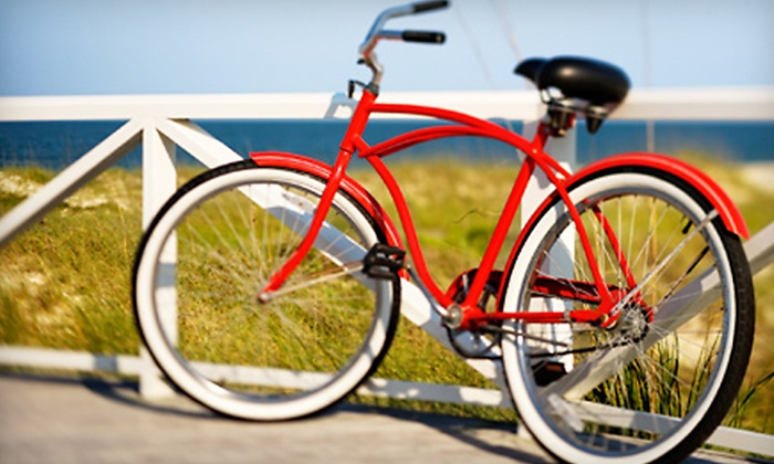 Cruiser King - Multiple Locations: All-Day Beach-Cruiser Rental for One or Two at Cruiser King (Up to 53% Off)