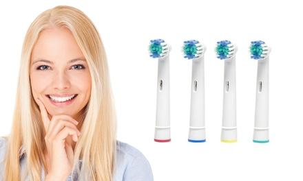 4, 8, 16, 24 ou 40 têtes de brosses à dents électriques, compatibles Oral B